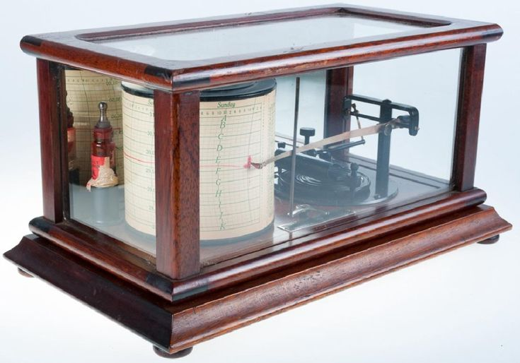 Taylor Instrument Co. Tycos Barograph-Barometer