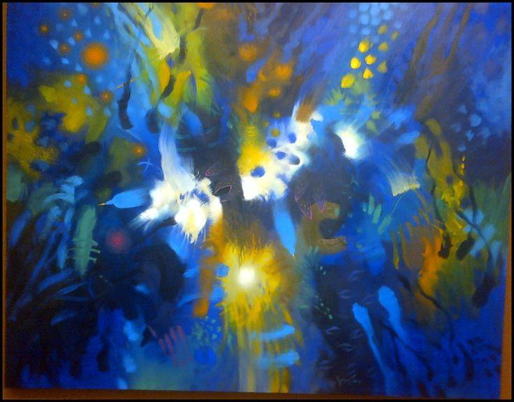 orificios en azules