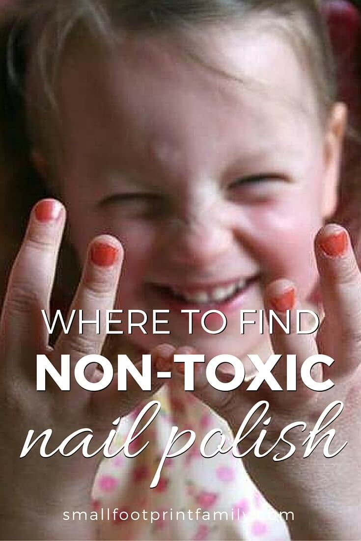 It's no surprise nail polish doesn't fit into the category of natural products. Here is why and some great eco-friendly nail polish brands to use instead!  #greenliving #nontoxic #kidfriendly #sustainability #naturalliving #nontoxicbeauty #beauty #naturalhealth