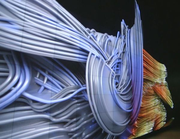 Danse et sculpture numérique   C'est Comme Ça qu'on Danse. Vidéo: http://www.cccdanse.com/on-decouvre/danse-et-sculpture-numerique/
