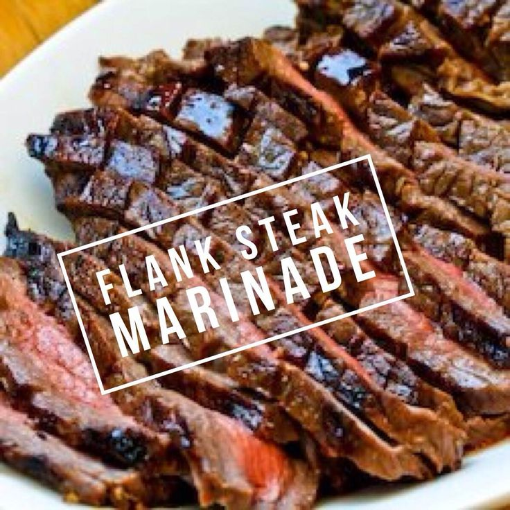 Flank Steak Marinade - 21 day fix approved