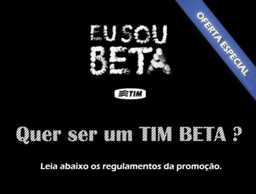Sorteio de 1 CHIP TIM BETA - Sorteie.me Mobile