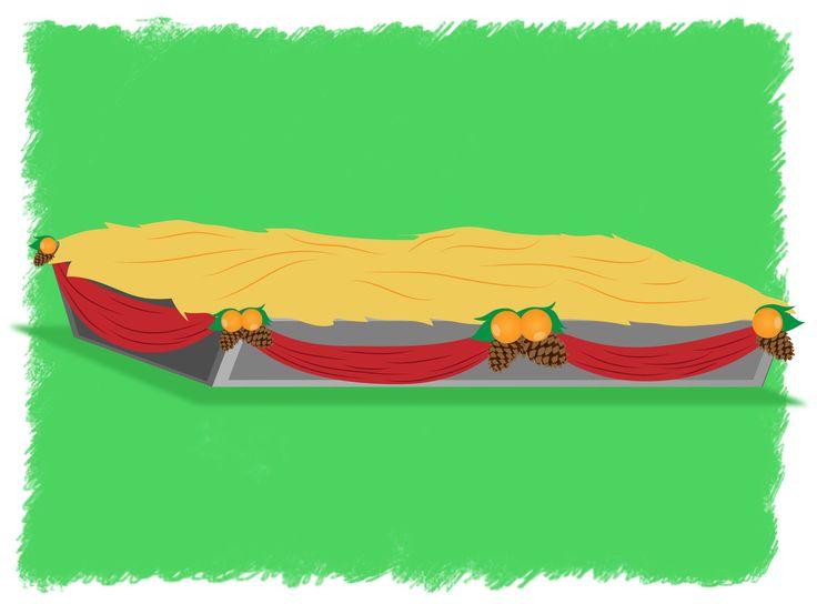 How to Make a Christmas Manger -- via wikiHow.com