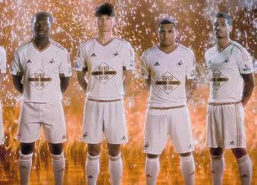 Swansea City 2015/16 adidas Home Kit