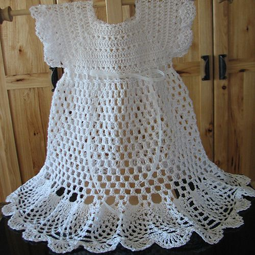 Pretty Pinafore Baby Dress Crochet for Baby and kids ...