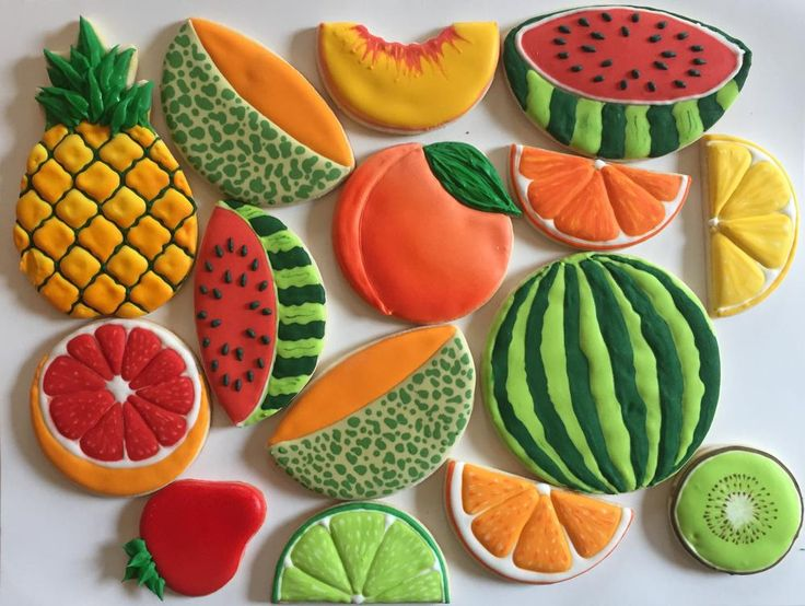 Summer fruit | Cookie Connection