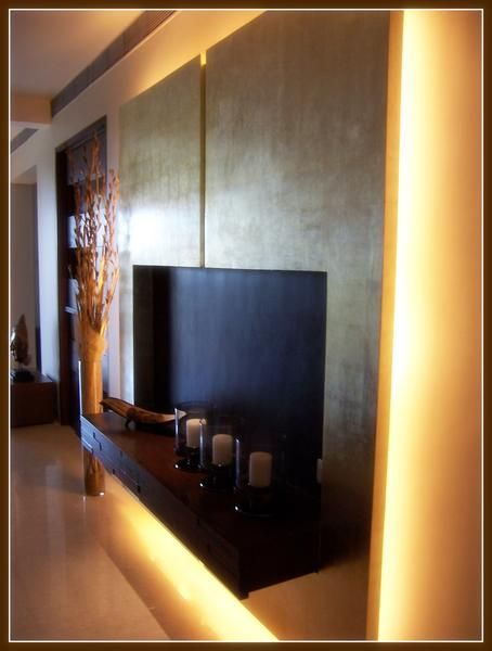 Lcd Panel Design Tv Unit Design Tv: LED TV Panels Designs For Living Room And Bedrooms