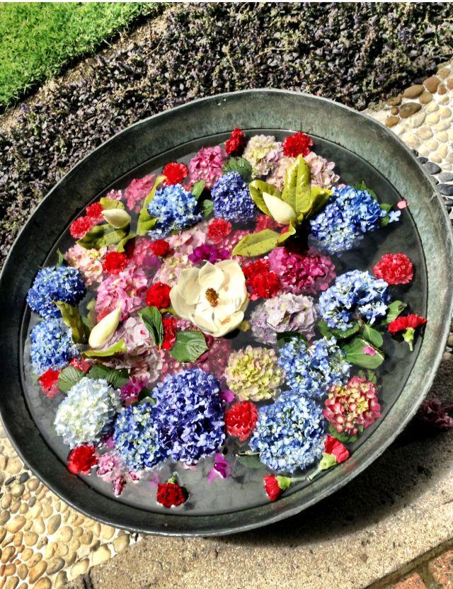 Paila & flores
