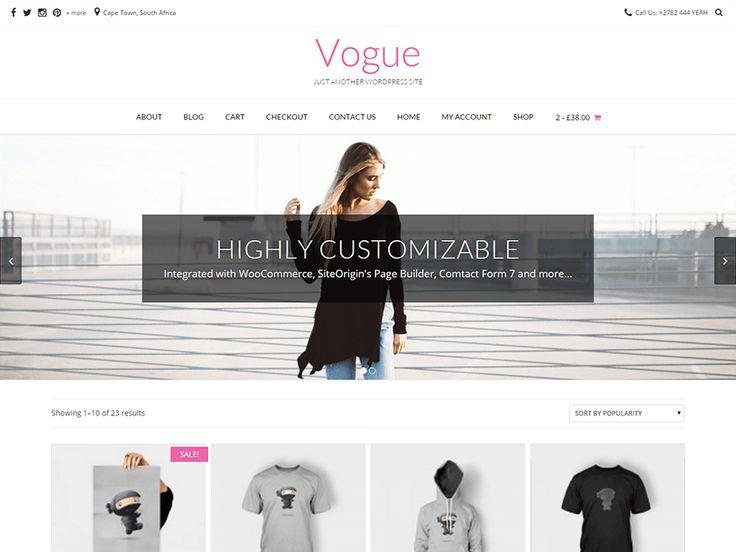37 best Free WooCommerce Themes images on Pinterest | Tema de ...