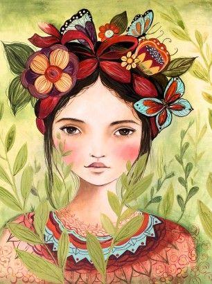 Сказочные иллюстрации канадской художницы Сlaudia Tremblay, посвященные йоге, природе, детям, женщинам и мистической Гватемале, где Сlaudia прожила некоторые время. Для неё процесс рисования похож на йогу. По словам художницы, когда она рисует позы йоги, то чувствует удивительное спокойствие и гармонию.