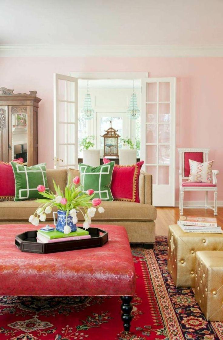 25+ best ideas about wandfarben wohnzimmer on pinterest ... - Rosa Wandfarbe Wohnzimmer