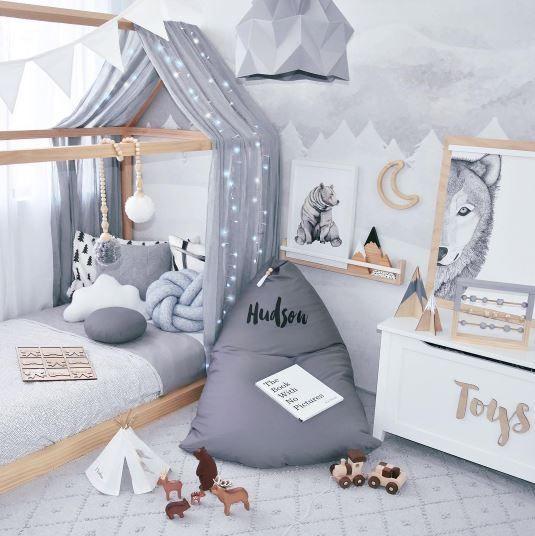 Relooking et décoration 2017 / 2018   Une chambre très belle par @ hudson_and_harlow