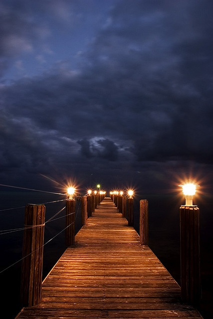 Boardwalk to the clouds by Belltown, via Flickr