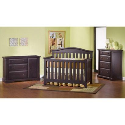 Childcraft Hawthorne Nursery Furniture Collection - Espresso