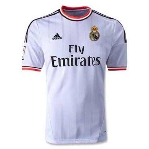 Jual Jersey Real Madrid Home Terbaru 2014 Grade Original