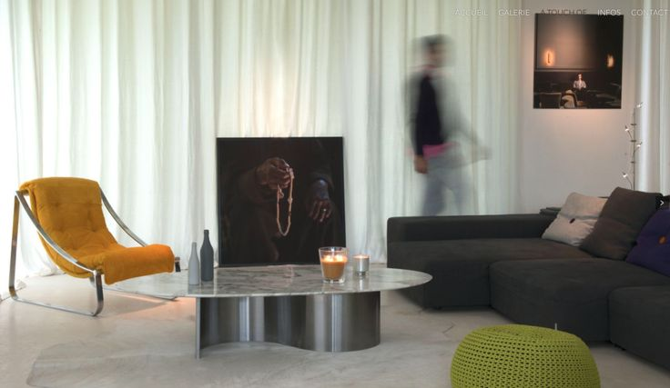 Ambiance Touch of Design  Table basse ca.1970-photos Corinne VAchon