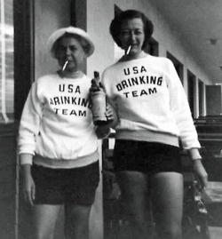 """looks like they were being """"bad""""Halloweencostumes, Best Friends, Drinks Team, Old Lady, Halloween Costumes, Funny, Team Usa, Usa Drinks, 30 Years"""