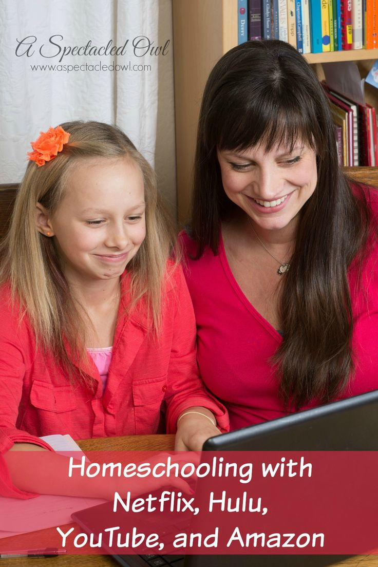Homeschooling With Netflix, Hulu, Youtube, and Amazon: all the best educational videos in one list!