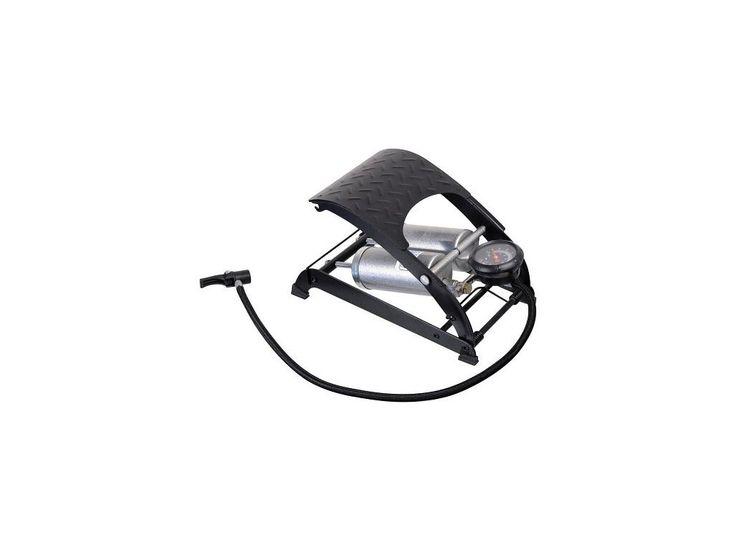 Vysoce výkonná hustilka osazená dvěma písty, která je určená k huštění pneumatik automobilů, motocyklů, jízdních kol, matrací, míčů atp. Součástí balení jsou adaptéry pro různé použití.