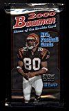#4: 2000 Bowman Football UNOPENED Pack (10 Cards) Possible Tom Brady ROOKIE RC? GOLD