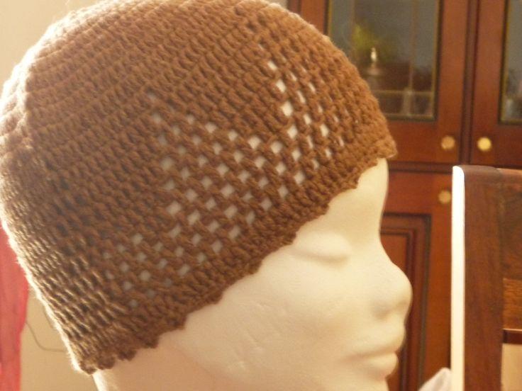 cappellino marrone