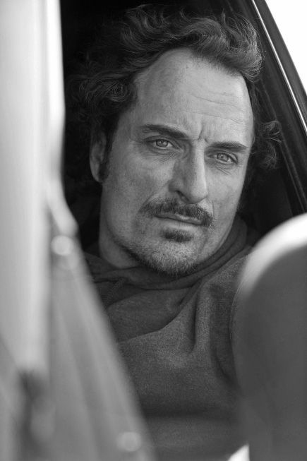 Kim Coates (cause his eyes are driving me nuts)
