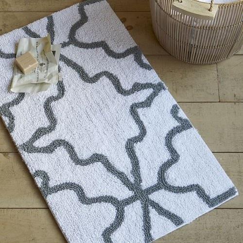 Iznik Bath Mat eclectic bath mats - downstairs half bath