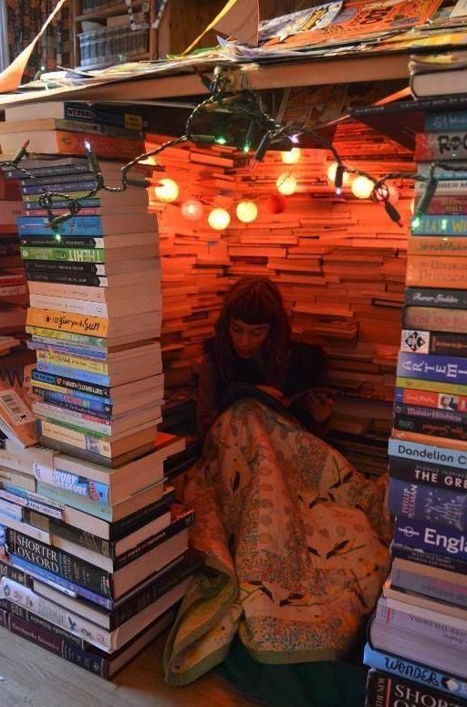 14 Reading Forts We'd Love to Escape Into