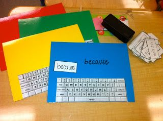 A brilliant idea that I can see working with the boys in the class. Hooray - computing without needing the computers!!