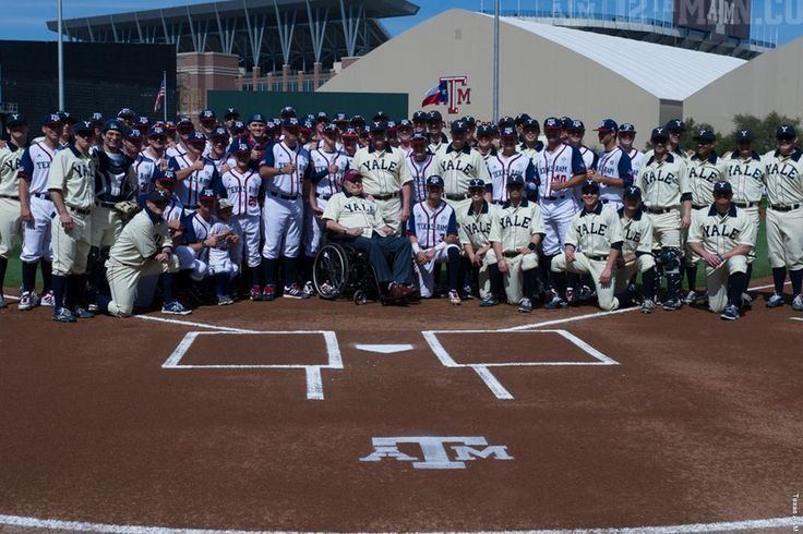 George Bush Day at Blue Bell Park - Texas A&M Aggies vs Yale Bulldogs