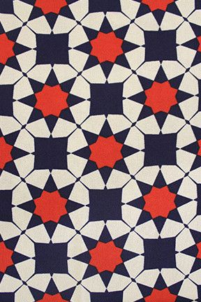 geometric dress fabric