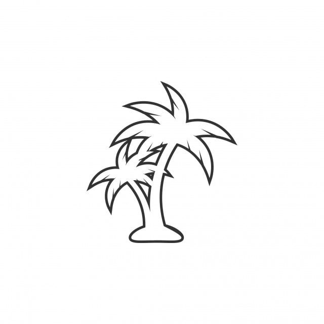 Palm Tree Icon Design Template Vector Isolated Tree Icons Template Icons Palm Icons Png And Vector With Transparent Background For Free Download In 2021 Palm Tree Icon Palm Tree Vector Tree Icon