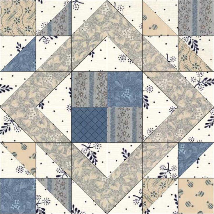 12 best Garden Path Quilt Block images on Pinterest Quilt blocks