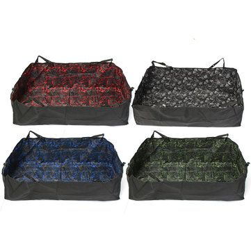 Dog Hammock Seat Covers For Dogs WaterProof Convertible Pet Seat Cover for Cars