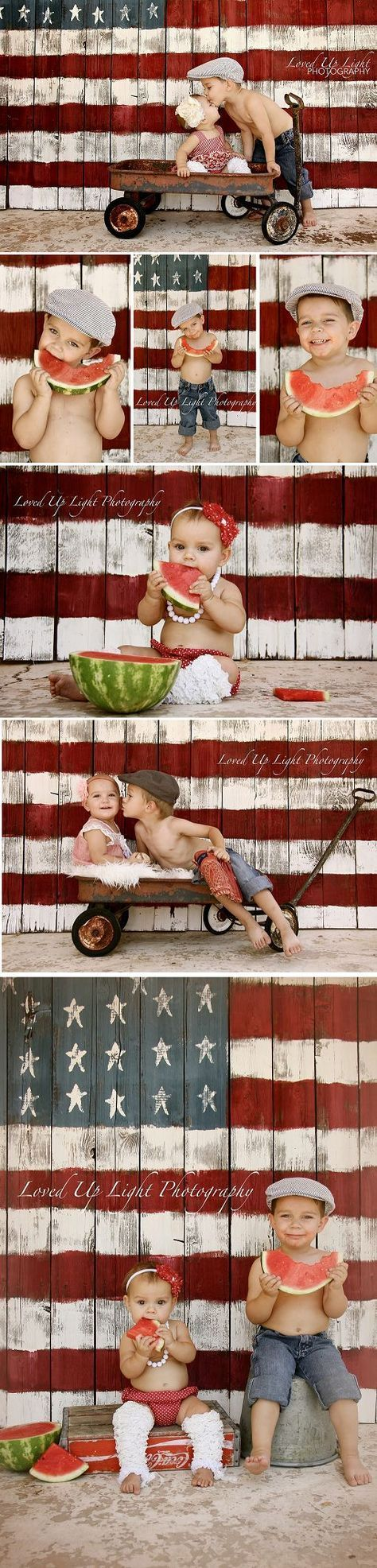 4. Juli Mini-Shooting Loved Up Light Fotografie: {Kids} Liebe diesen Backdrop! ….., # 4. # 4 …   – BABY PICTURES