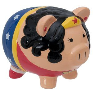 Wonder Woman Ceramic Bank  :0 eeeeeeeeeee!