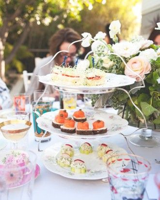 A Bridal Shower Tea Party for The Kitchy Kitchen's Claire Thomas - Sugar and Spice and Everything Nice