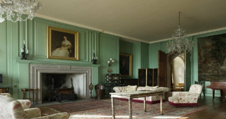 Drawing Room. Castle Drogo, Devon, 1910-1930, Sir Edwin Lutyens. Photo: National Trust Images/Dennis Gilbert