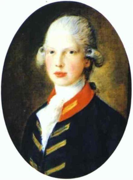 Retrato de Príncipe Eduardo, duque de Kent Más tarde, 1782 - Thomas Gainsborough
