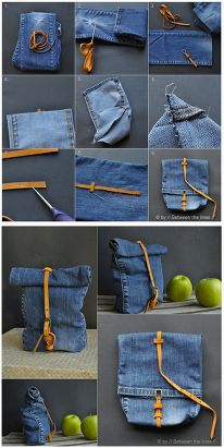 Jean bag, easy 2 make
