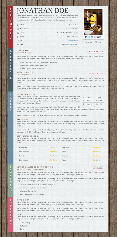 Paper Resume CV 33 best Creative