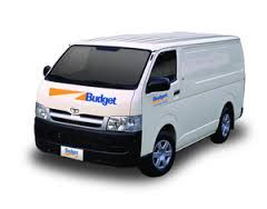 BUDGET RENTAL  VAN HIRE (NON REFRIDGERATED)