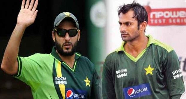 Shoaib Malik suggests to make Afridi as captain
