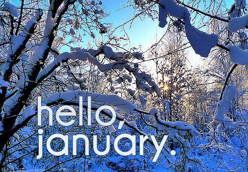 Hello, January!!