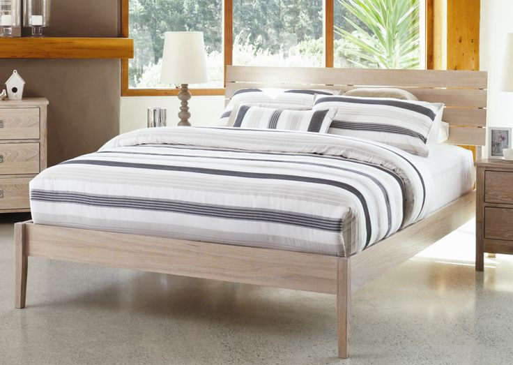 Coastal Queen Bed Frame by Nero Furniture from Harvey Norman NewZealand