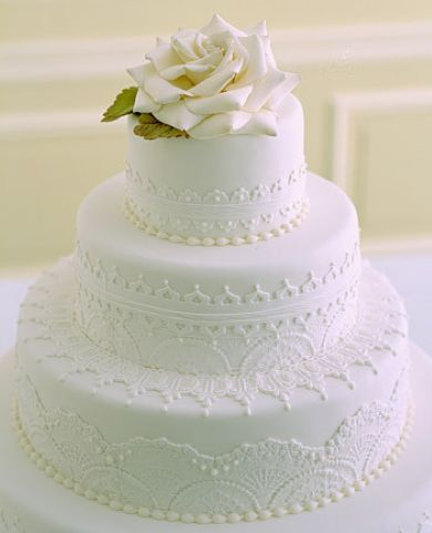 Un gâteau de mariage… à l'américaine | Mademoiselle Dentelle