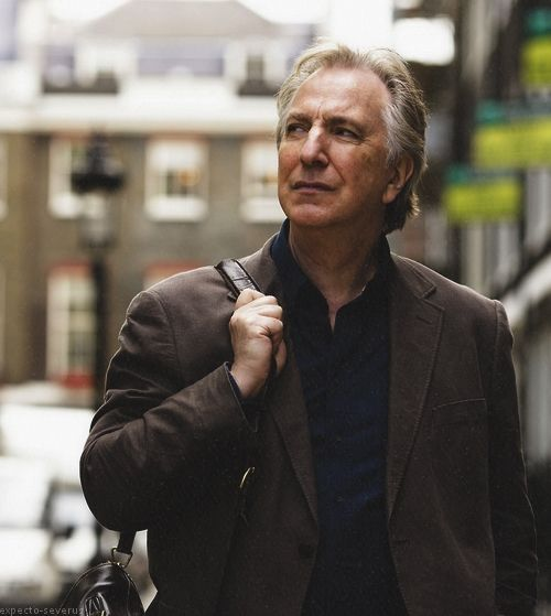 """Alan Rickman ... 2010 """"Song of Lunch"""""""