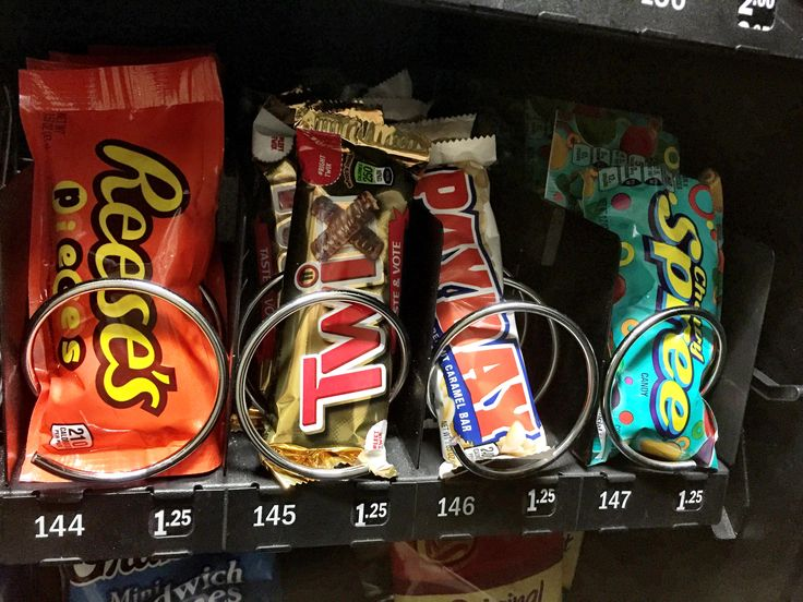 There may be fewer bags of chips, pieces of candy and cans of soda in vending machines in Prince George's County.