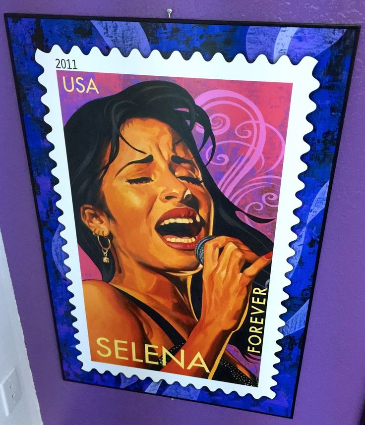 Selena Forever Stamp! One of my idols, forever and always. An angel gone too soon. Here's my latest blog post about: Our Visit to Corpus Christi and The Selena Museum