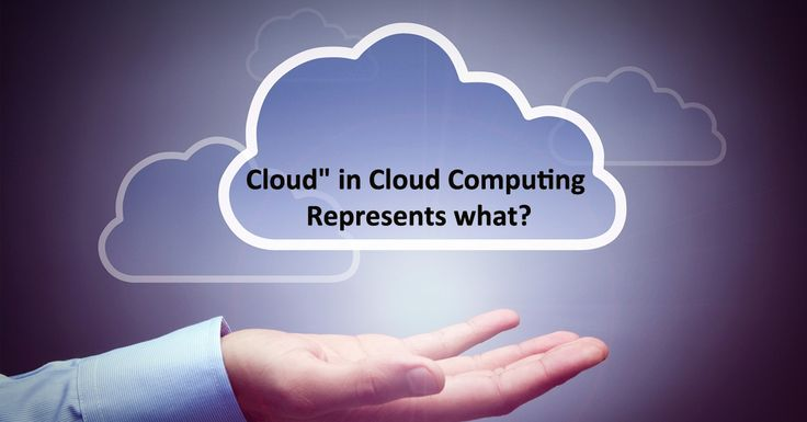 """""""#Cloud"""" in #CloudComputing represents what? a. #Wireless b. #HardDrives c. People d. #Internet"""